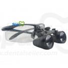 2.8 x Magnification Professional Dental Loupes by Spark Black BP Sports Frame and Adjustable Pupil Distance Model #SM2.8