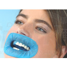 10X Dentist Surgery Use Dental O-shape Blue Disposable Rubber Dam Mouth Gag for Absolute Isolation CE Approved