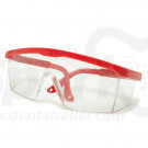 2X Medical Lab Anti Scratch Safety Spectacles Chemical Splash Prevention Eye Protective with Adjustable Locking Arms