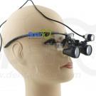 2.3 X Professional Dental Loupes Black BP Frame with LED Head Light