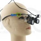 2.8 x Professional Dental Loupe Black BP Frame with LED Head Light
