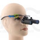 5.0 x Magnification Professional Dental Loupes Black BP Sports Frame