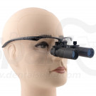 5.0 x Magnification Professional Dental Loupes Black BP Sports Frame and Adjustable Pupil Distance Model #DM5