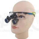 2.3 x Magnification Professional Dental Loupes by Spark Black BP Sports Frame and Adjustable Pupil Distance Model #SM2.3