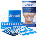 Grinigh Bright Touch Teeth Whitening Strips with Fresh Mint Flavor | 7 Treatments