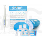 Grinigh® Home Teeth Whitening System with LED Accelerator Light | Complete Kit