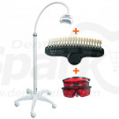 Portable Teeth Whitening White Light 24W with Aluminium Case and 20 Shades Shadeguide CE Appproved